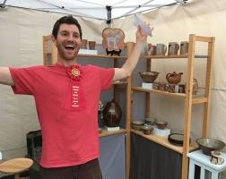 2nd Place Craft: Jeffrey Lipton – Jeffrey Lipton Pottery