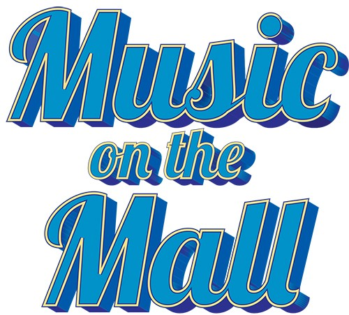 Music on the Mall Brunswick, Maine logo