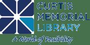 Curtis Memorial Library logo
