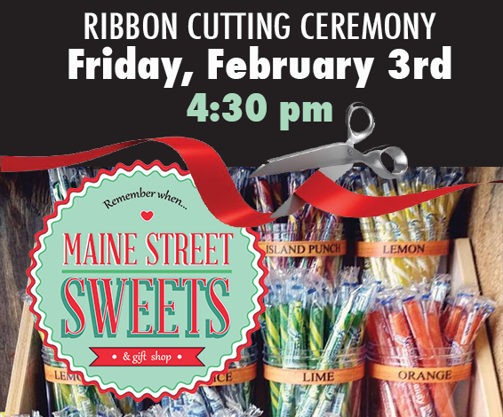 Maine Street Sweets Ribbon Cutting
