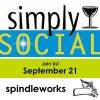 Simply Social at Spindleworks logo
