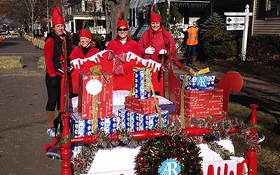 2015 Bed Race winner ARFCU