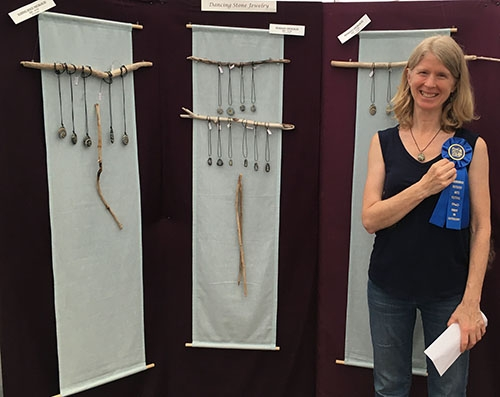 1st Place Jewelry: Janet Moller – Dancing Stone Studio