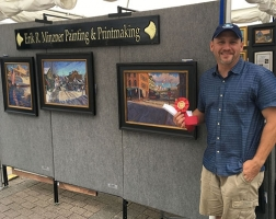 2nd Place Mixed Media: Erik Minzer – Minzner Fine Art