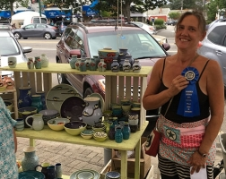 1st Place Craft: Lacey Goodrich – Lacey Pots