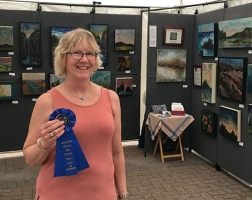 1st Place Mixed Media: Ann Rinehardt Fine Artist