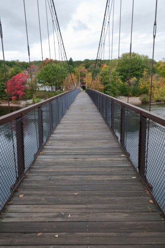 swinging bridge- Fall