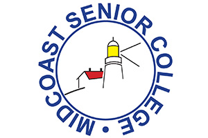 Mid Coast Senior College logo - Brunswick Downtown Association