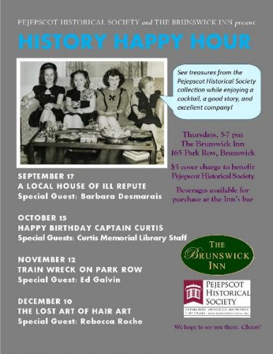 082515 Fall 2015 History Happy Hour flyer for Blast