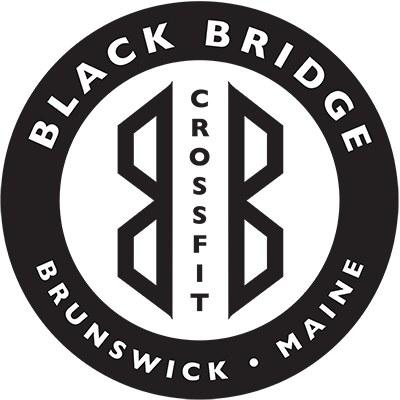 Black Bridge Crossfit logo-  downtown brunswick