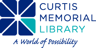 Curtis Memorial Library logo