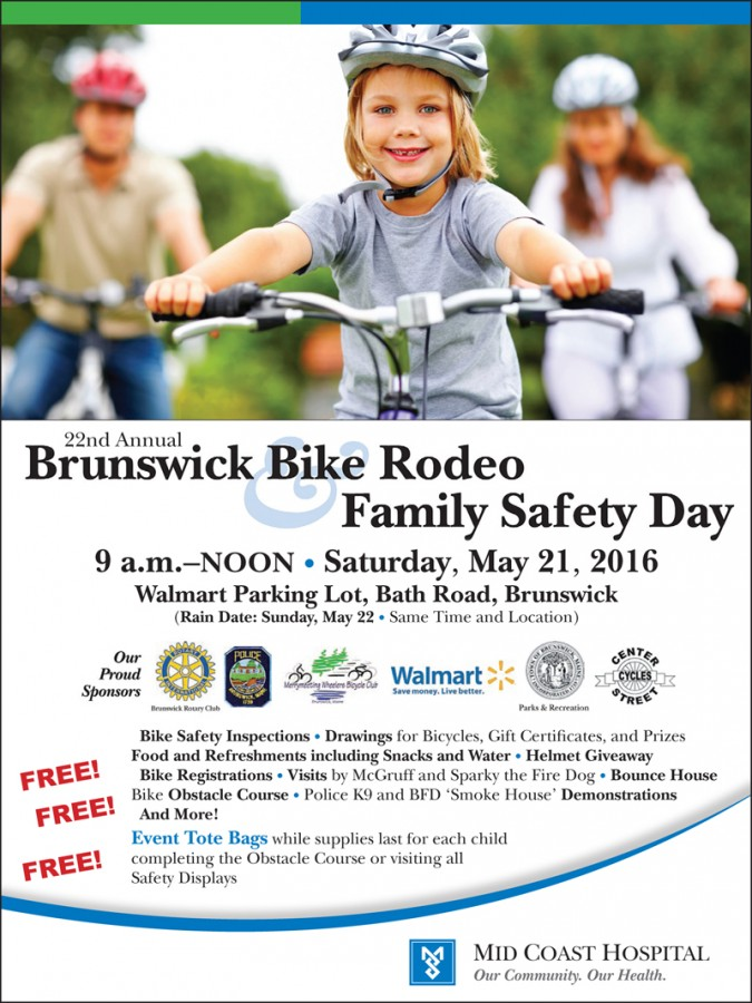 Brunswick Bike Rodeo ad