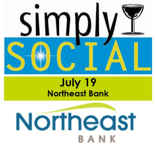 Simply Social Northeast Bank graphic