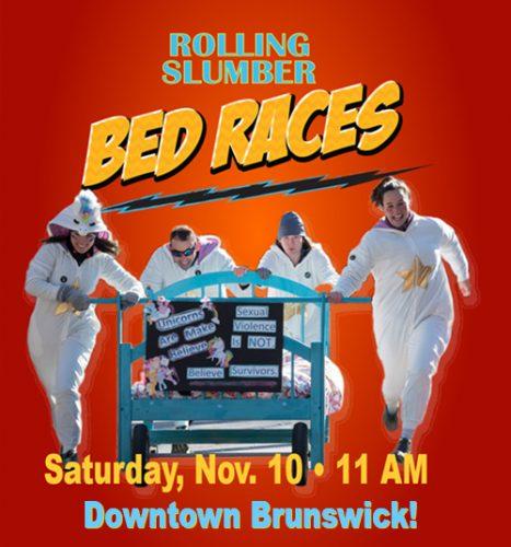 BDA's Rolling Slumber Bed Races graphic 2018