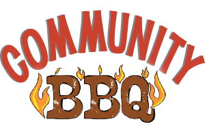 Brunswick Downtown Association's Community BBQ logo
