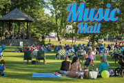 Music on the Mall summer concerts graphic