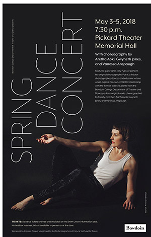 Spring Dance Concert at Bowdoin College