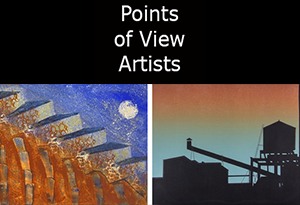 Then and Now exhibit at Points of View Art Gallery