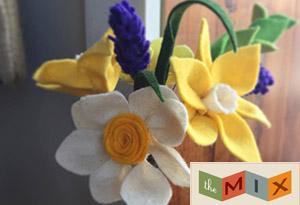 Mother's Day Felt Flower Bouquet