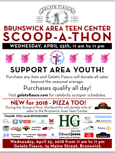 Scoop-a-thon poster