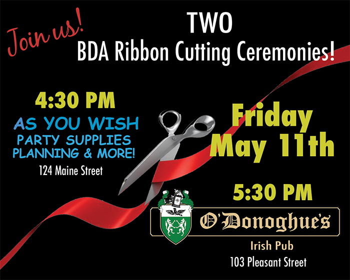 Ribbon Cutting Ceremony at As You Wish Party Supplies, Planning & More!