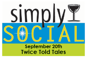 Simply Social at Twice Told Tales graphic