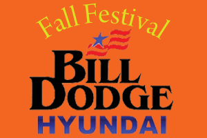 Bill Dodge Hyundai fall festival graphic