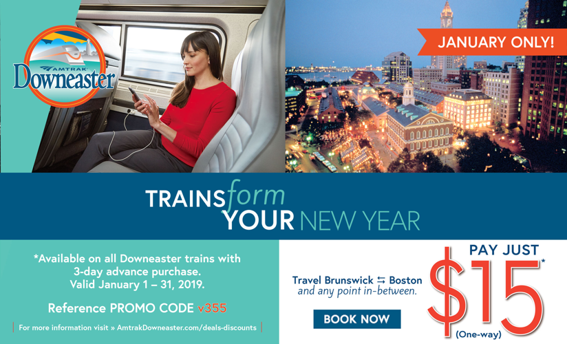 $15 one-way fares in January 2019!