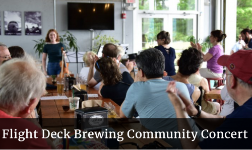 Flight Deck Brewing Community Concert