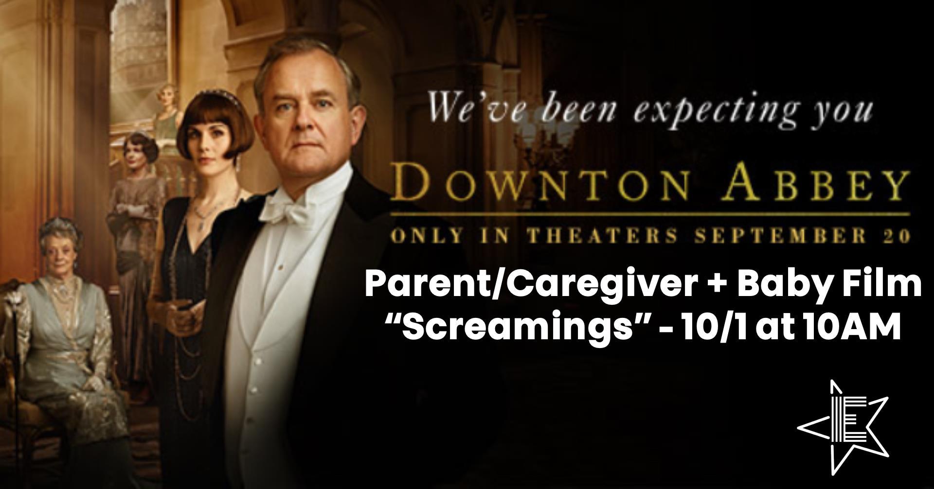 "Parent/Caregiver + Baby Film ""Screamings"""