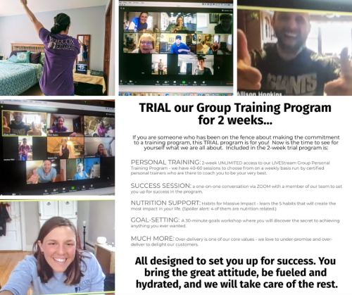 Wilcox Wellness & Fitness 2 week TRIAL Group Training