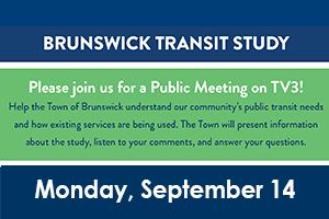 Brunswick Transit Study Public Meeting