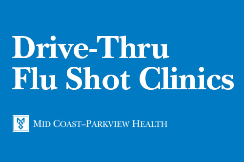 Drive-Thru Flu Shot Clinics (Saturdays & Sundays)