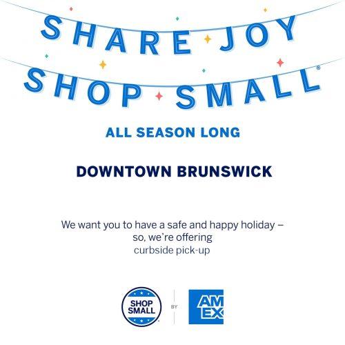 Small Business Saturday Nov 28 in Downtown Brunswick