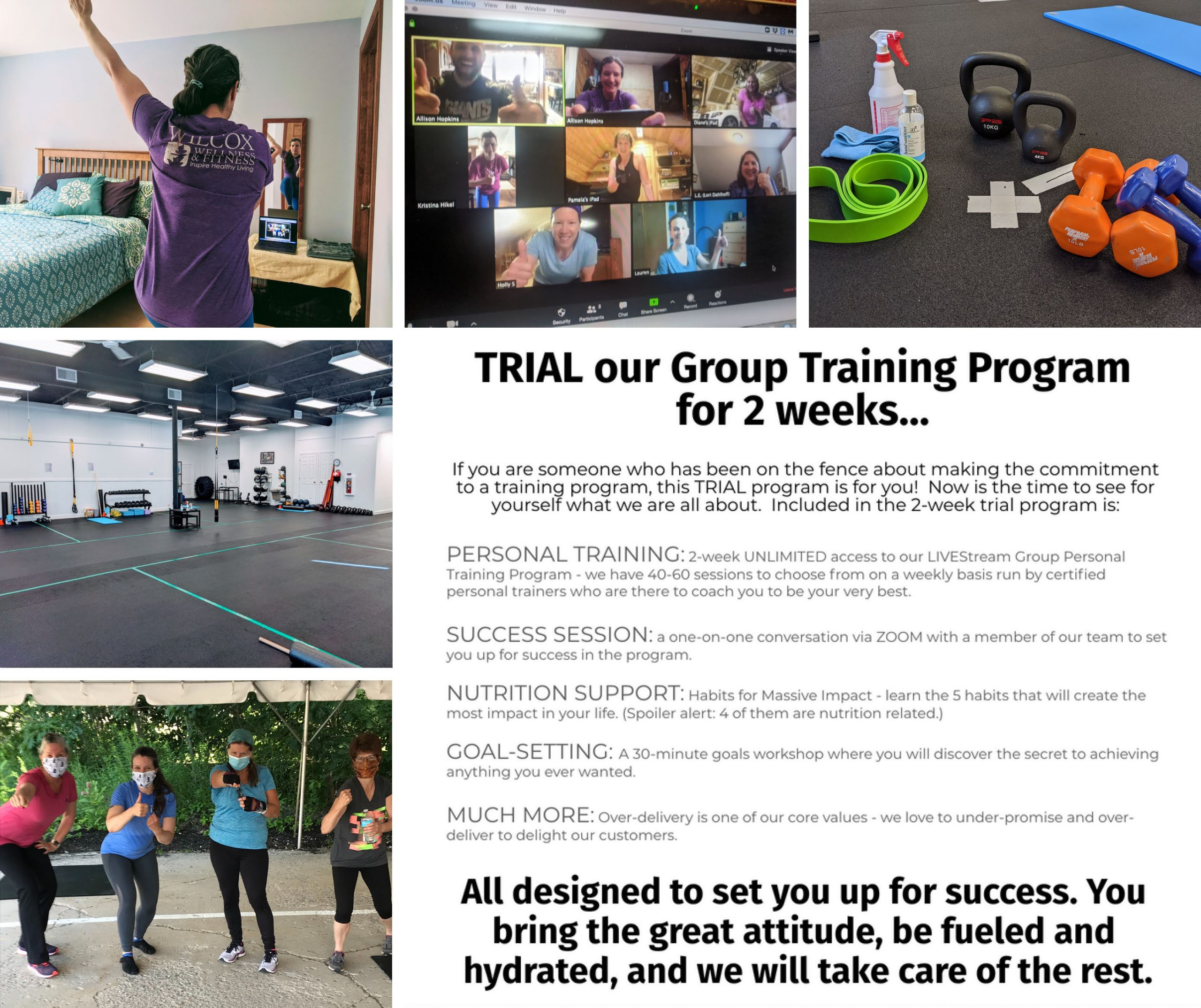 Wilcox Wellness & Fitness: 2 week TRIAL program