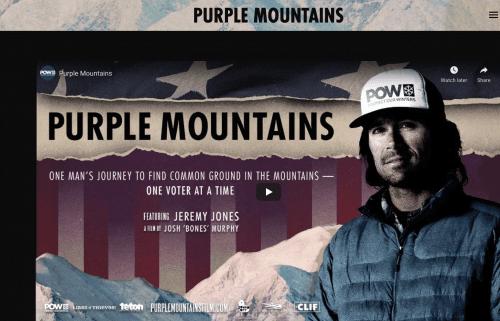 Purple Mountains image