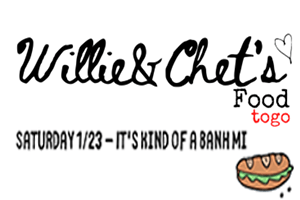 Willie & Chet's Food togo