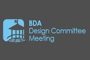 BDA Design Committee Meeting