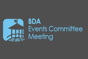 BDA's Events Committee Meeting