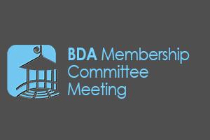 BDA Membership Committee Meeting
