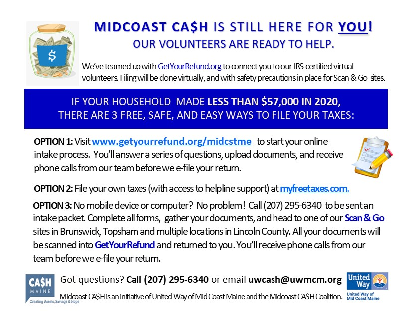 Midcoast CA$H is now live!