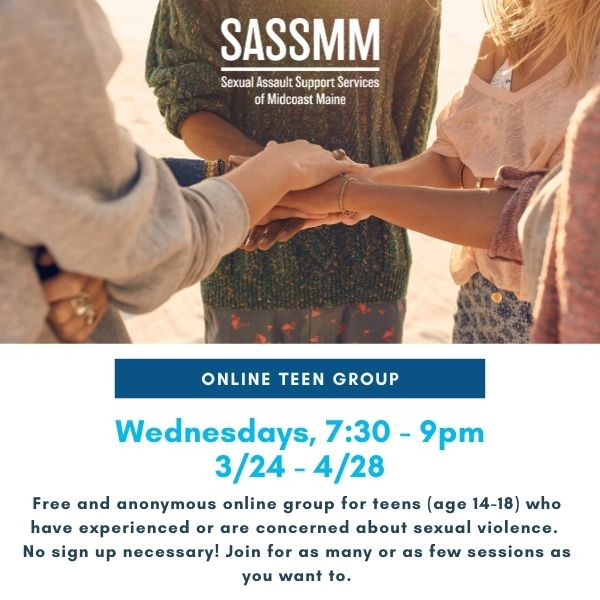 Online Sexual Violence Support Group for Teens