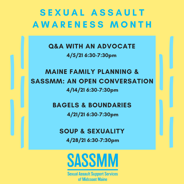 Sexual Assault Awareness Month: Soup & Sexuality