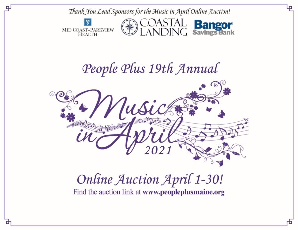 People Plus Music in April Online Auction