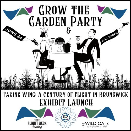 Grow the Garden & Taking Wing Launch Party