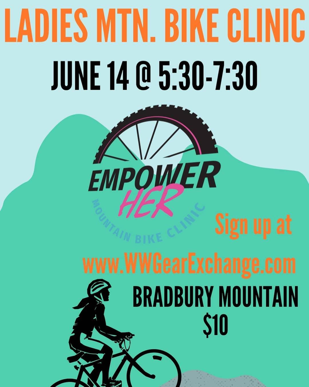 Ladies Mountain Bike Clinic