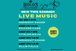 Live Music at Bolos!